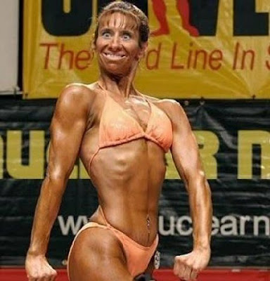 funny female bodybuilder