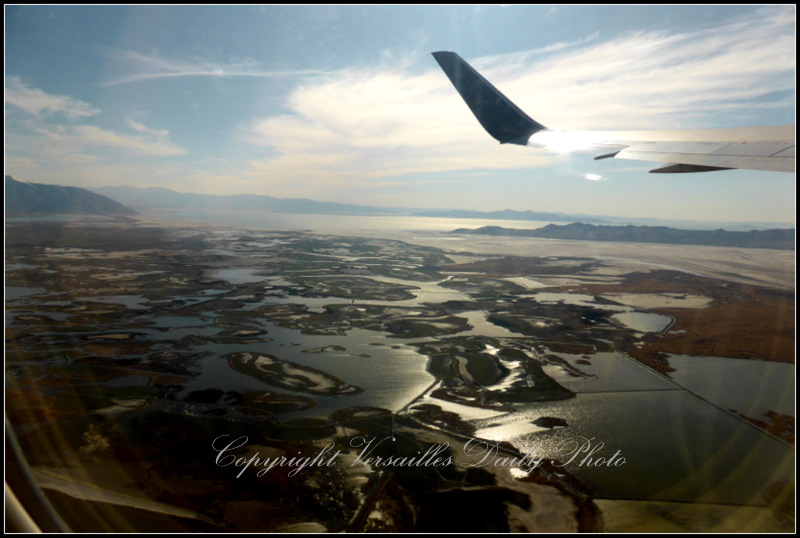 Great Salt Lake from above