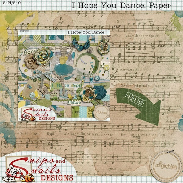 I Hope You Dance + Freebie!