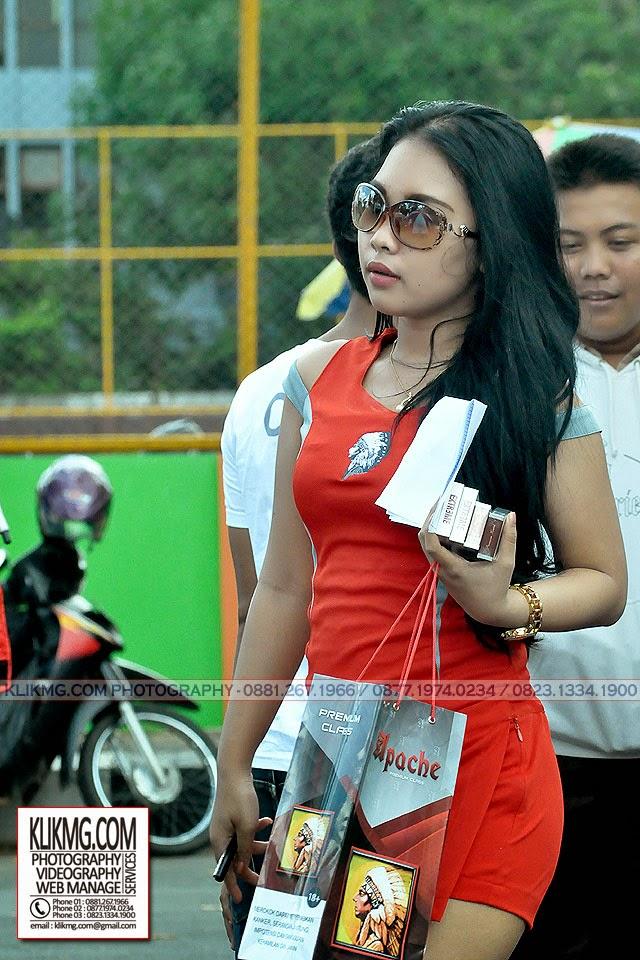 Yang Cantik dan Seksi dari Arena Balap Yamaha Cup Race Purwokerto
