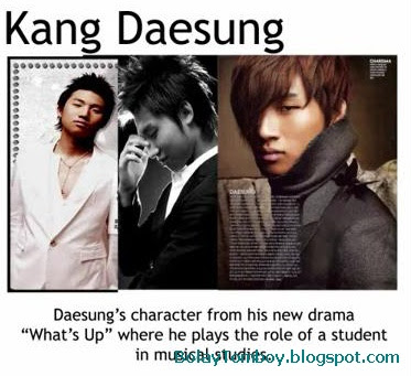 Kang Dae Sung Whats Up Korean Drama