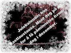 Julekalender hos Rastlaustausa: