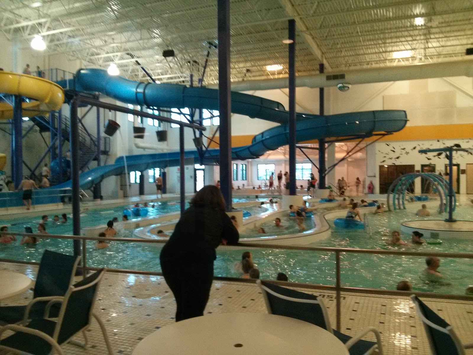 Family Fun Adventures In Edmonton Swimming At Servus Place