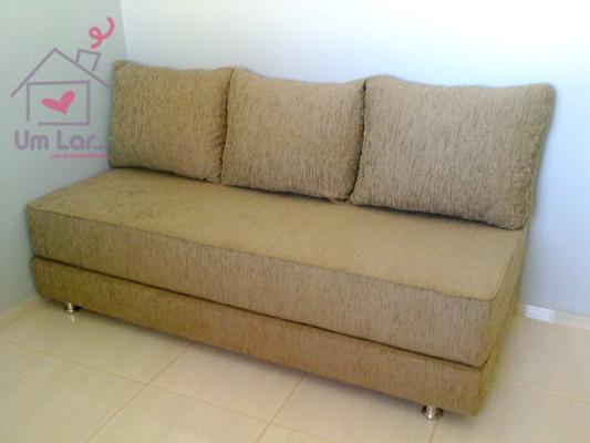 Um lar um sof cama simples e pr tico for Modelos de divan cama