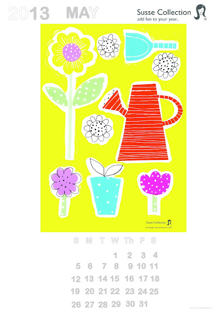 May Calendar This Year : Susse collection april