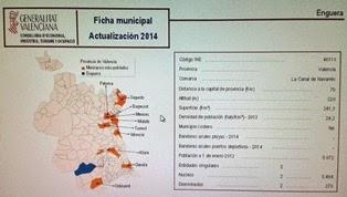 Datos de ENGUERA  actualizados a 2014.