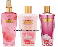 Malaysia ready stock: Sheer love set ...RM115 only!