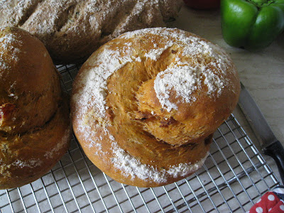 tomato and chorizo bread