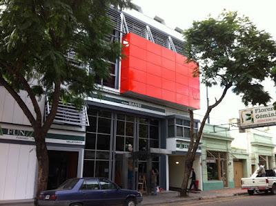 Revestimiento fachada Casa Bassi