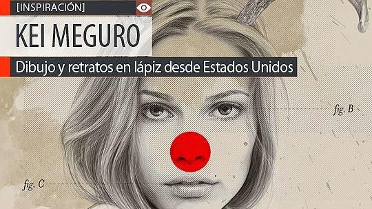 Dibujo y retratos en lápiz de KEI MEGURO