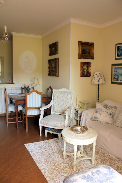 My roseinitaly living room for Arredare casa stile country chic