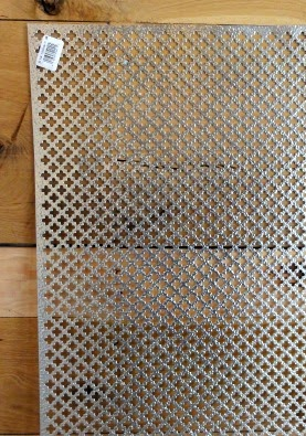 Punched Metal for Custom Ceiling Vents