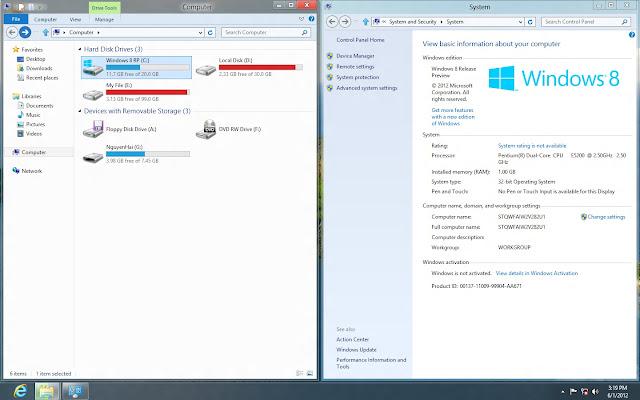 Bản Ghost Windows 8 Enterprise RTM x64 Nosoft  1