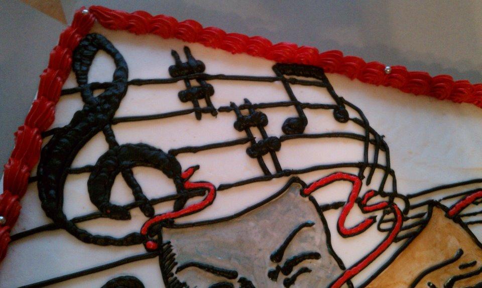 Thespian Cake