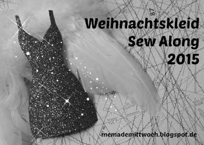Weihnachtskleid Sew Along Label