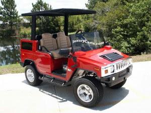 hummer 2012 - golf cars