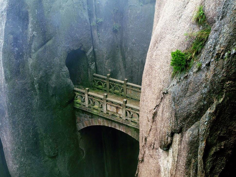 جسر هوانغشان الصين