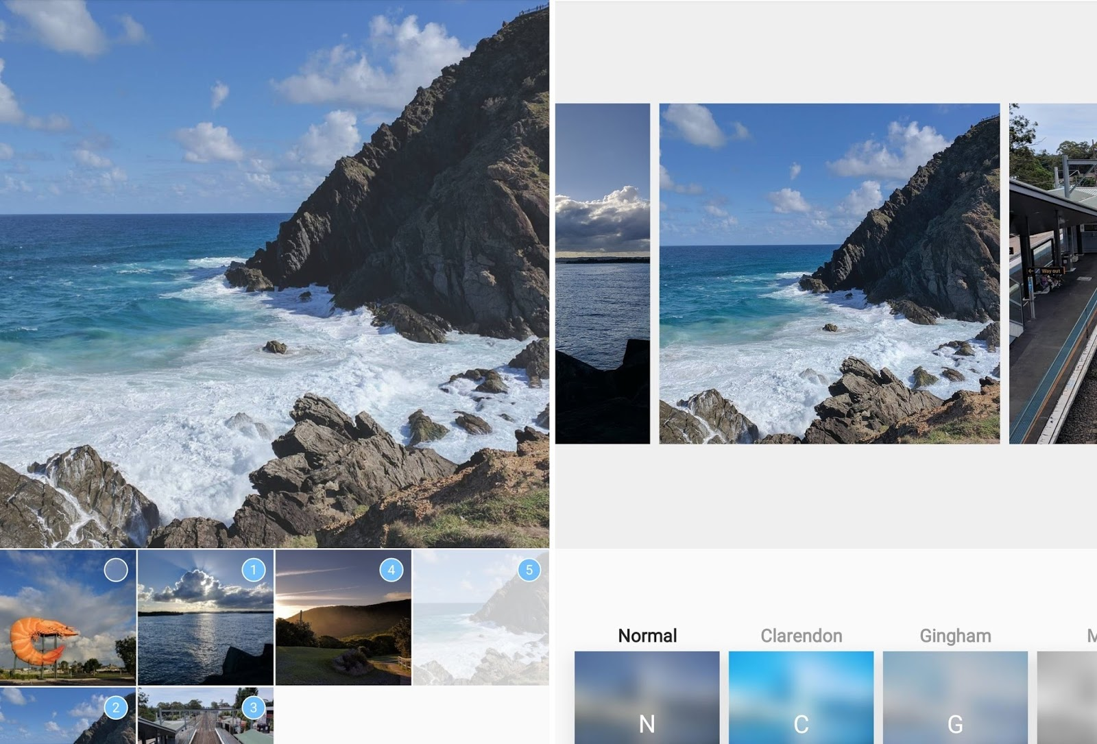 Как делать историю в инстаграме по несколько фото