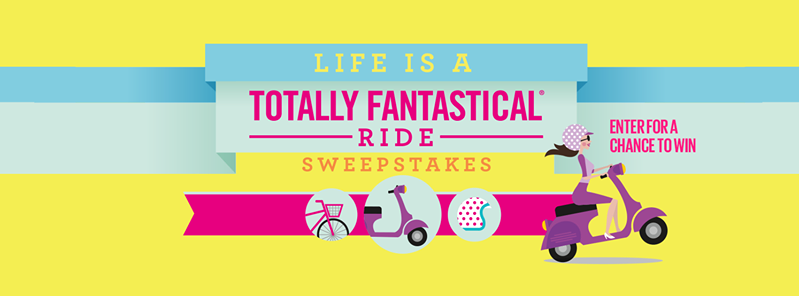 Enter the Life is a Totally Fantastical Ride Giveaway. Ends 5/15/15