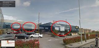 Street View borra pintadas de trabajadores