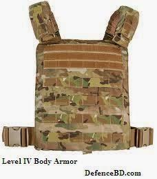 Level IV bullet proof vests