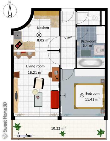 Sweet home 3d dise o de planos libre y gratuito frankenrol for Simulador de casas 3d gratis