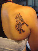 Clover Tattoos For Women (beauty girls kokopelli tattoos)