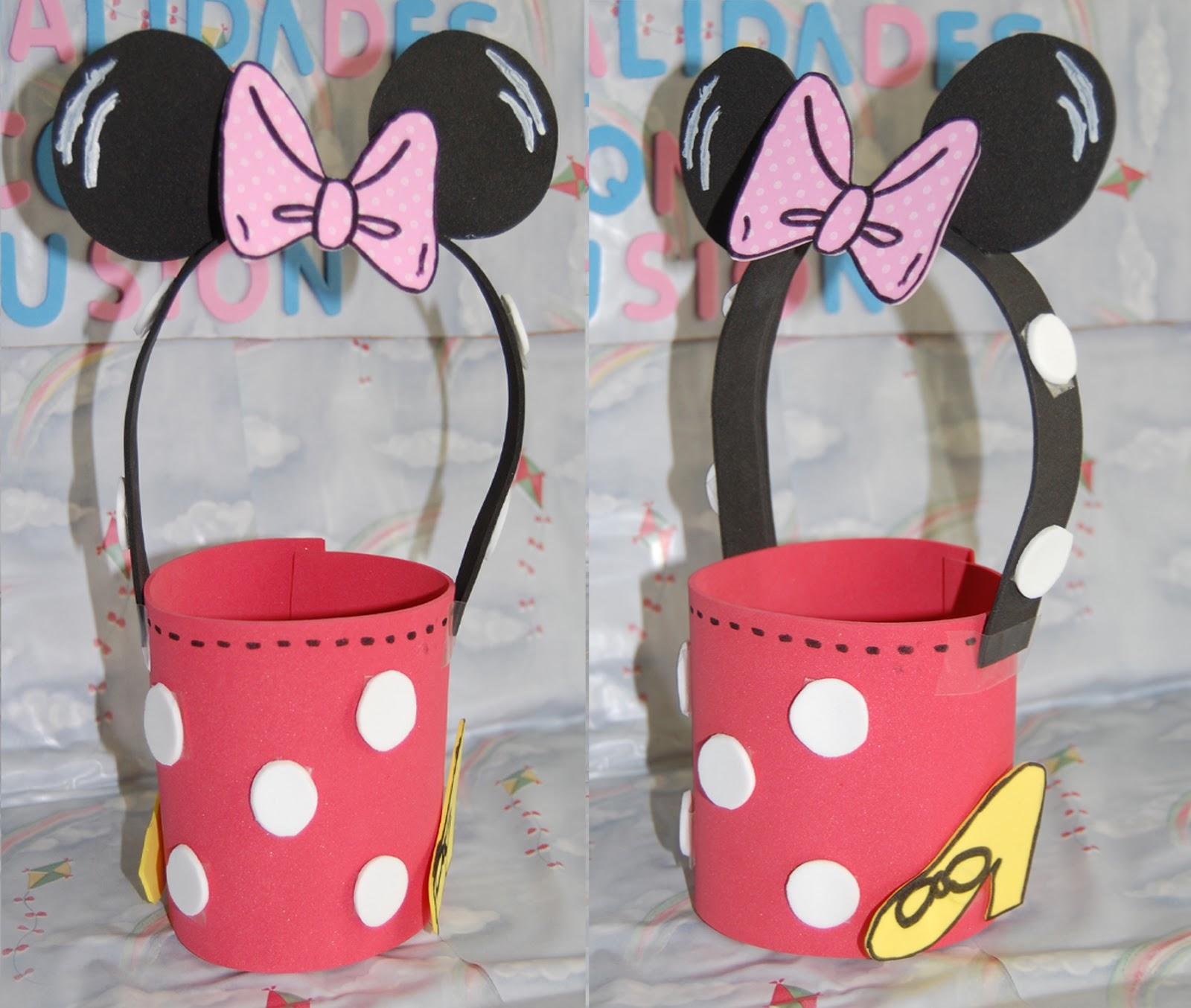 Dulceros De Mickey Y Minnie Mouse