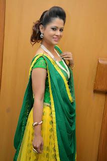 Anchor Shilpa Chakravarthy Latest Pictures at Taruvatha Katha Movie Trailer Launch  32.JPG