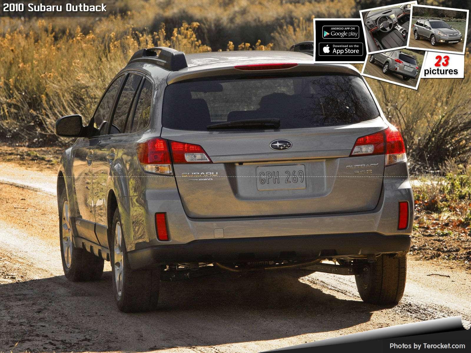 Hình ảnh xe ô tô Subaru Outback 2010 & nội ngoại thất