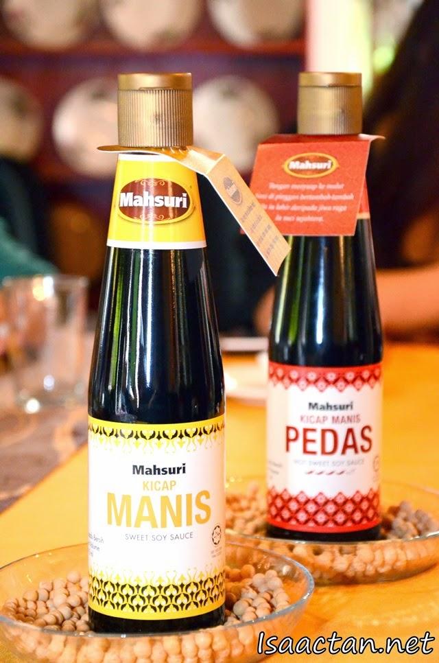 Mahsuri's Kicap Manis and Kicap Manis Pedas
