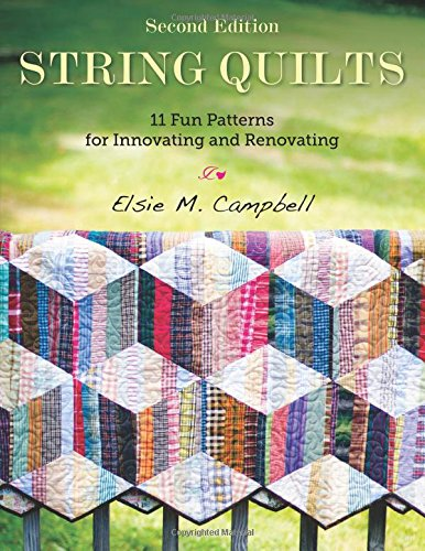 String quilts... NEW book!