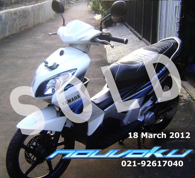Yamaha Nouvo Z 2007 AIS Pearl White