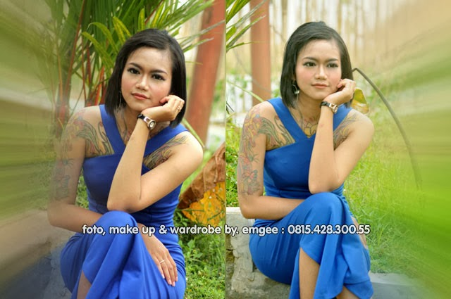 Judul : Jessy - The Simple Blue Dress Girl | Jumlah Foto : 7 (tujuh) | Talent : Jessy | Make Up Arts (MUA) : EMGEE Rias Pengantin  | Wardrobe : EMGEE Collection | Photographer : EMGEE Photography | Location : Resto Joglo Banteran - Sumbang, Banyumas |  Date & time of Shoot : February 27th, 2014 - 14:00 WIB