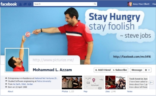 facebook timeline creative profile 9