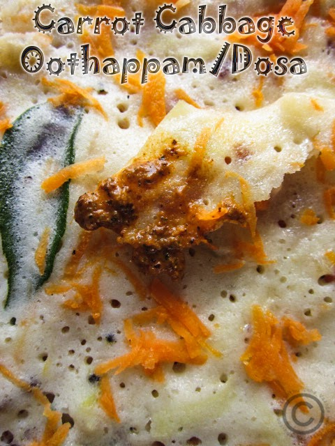 carrot-cabbage-dosa