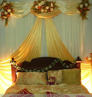 Bengali wedding guide bridal bedroom decoration ideas for Asian wedding bed decoration