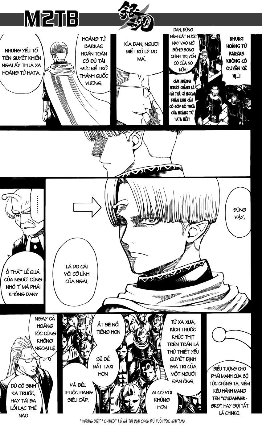Gintama Chap 613 - Trang 3