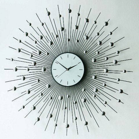 Wall Clock Design Photo : Fashion and art trend unique creative stylish wall