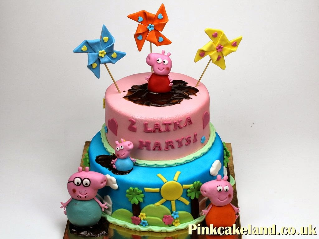 Peppa Birthday Cake, Chelsea