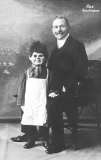 creepy scary weird wtf vintage photo image ventriloquist puppet chucky