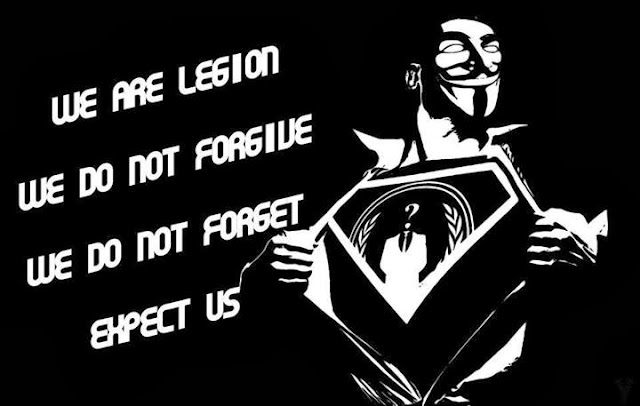 We Are Legion We Do Not Forgive