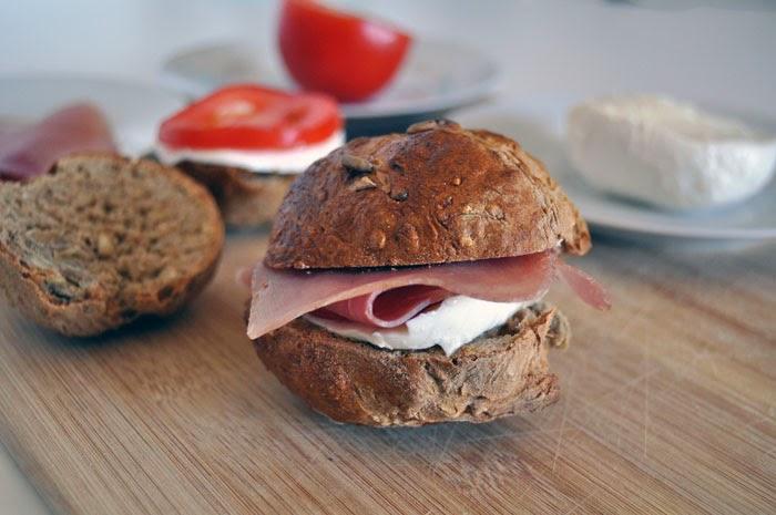 Home-Baked Wholegrain Bread Rolls