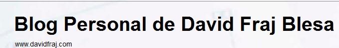 EL BLOG DE DAVID FLAJ