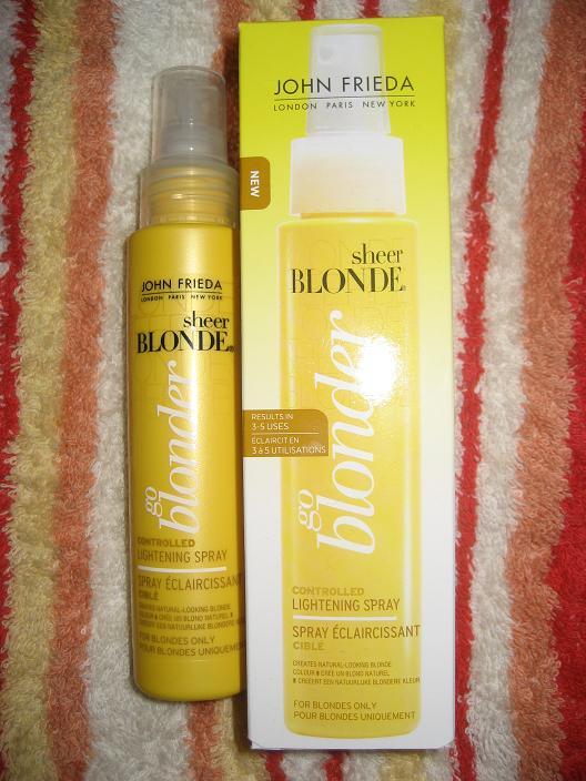 John Frieda Go Blonder Lightening Spray Lovely Girlie Bits Best