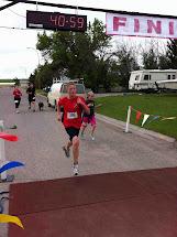Barefoot Barbara Cardston Family Fun Run 2012