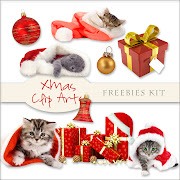Freebies Xmas Clip Arts Kit