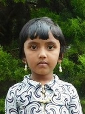 Alishia - India (IN-730), Age 5