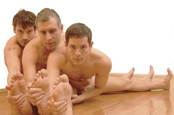 Masseur Bio Tao Danca E Yoga Grupal Homens Nus