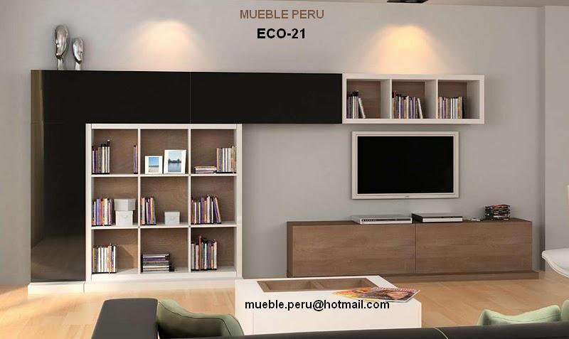 Mueble Para Televisor De Plasma, Libros, Fotos Y Cd´s